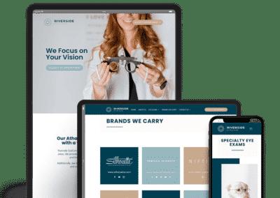 Riverside EyeCare Website Design