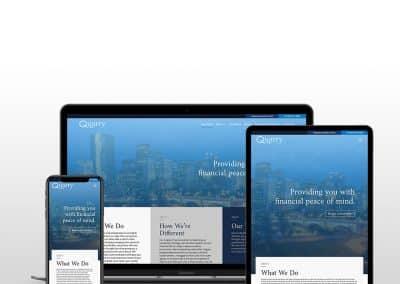 Quarry Wealth Website Design