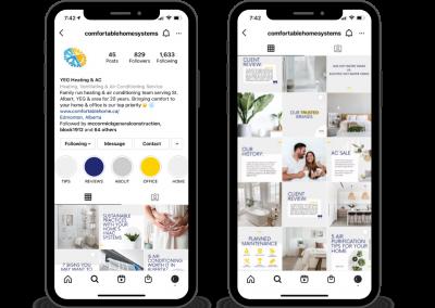 Comfortable Home Systems Social Media